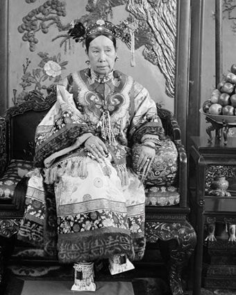 L'imperatrice Dowager Cixi