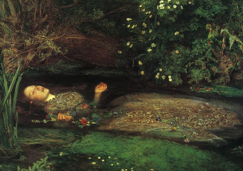 Ofelia, John Everett Millais