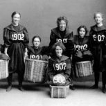 Squadra di basket femminile