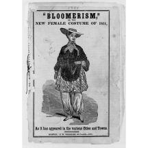 Bloomerismo, 1851