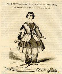 Tenuta da ginnastica, 1858