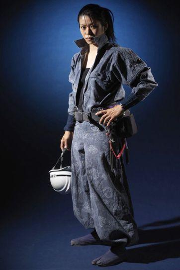 Abbigliamento da lavoratore edile giapponese