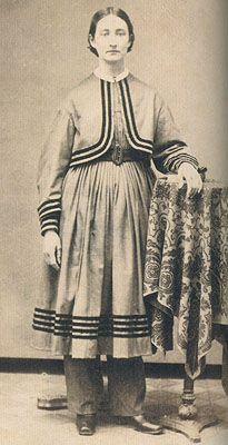 Lizzie Stamp in abito Bloomer