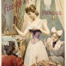 Fabrique de corsets Feder Rosa Fuchs