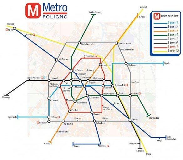 Metro Foligno