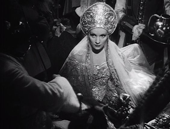 Marlene Dietrich, The Scarlet Empress, 1934
