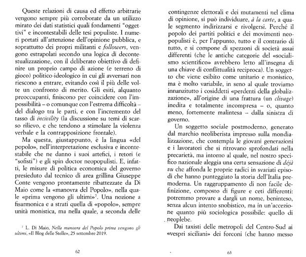 """Massimiliano Panarari in """"Uno non vale uno"""")"""