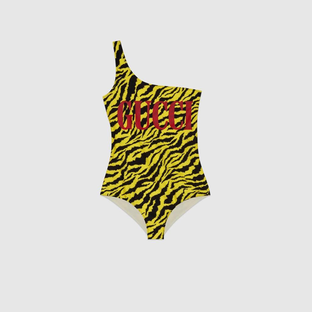 costume-con-stampa-zebra Gucci